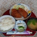 大和田 - 料理写真:アジフライ定食