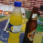 112979460 - ビールと甘いソーダ