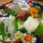 鮨一歩 - 料理写真:お造り盛り合わせ