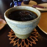 カフェ・ルーラル - 水出しアイス珈琲450円
