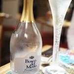 ペペロッソ - ドリンク写真:乾杯の泡