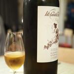 ペペロッソ - ドリンク写真:貴腐ワイン的な白