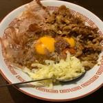 新潟長岡らぁめん 安ざわ食堂 - 料理写真:マニばらざわカレーライス全部のせ