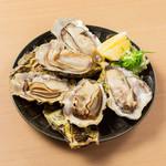 殻付き牡蠣蒸し焼き 1個