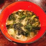 大吉丸 - ノリの味噌汁