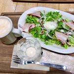 ファイブ・クロスティーズ・コーヒー - モーニングサラダセット