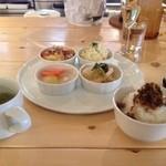 ブレーメンカフェ - ある日のデリランチ