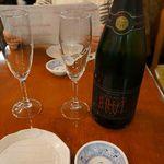 しらすくじら - スパークリングワイン750ml、CAVA2200円