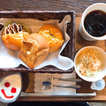cafe まごころ米て - 料理写真:ブランチ Aセット