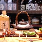 赤焼瓶 - 串焼