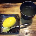 貯水池 鳥山 - デザートは緑茶とマンゴープリン