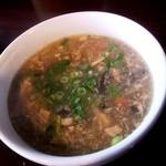 11300323 - ランチセットスープ、美味し! これのために絶対 また行きます☆