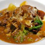 ラ クレアトゥーラ - 牛ホホ肉の赤ワイン煮込みランチセット(1500円)
