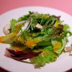 ラ クレアトゥーラ - ランチセットのサラダ