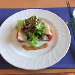 Toutenkou - 「華」 蒸し鶏の胡麻ソース