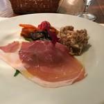イル カルディナーレ - ランチA(税込み2160円)の前菜
