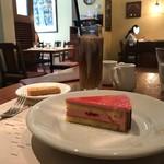 イル カルディナーレ - デザートとアイスコーヒー