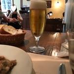 イル カルディナーレ - ビール(864円)