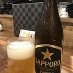 ダイフク - ビールはサッポロ黒ラベル(2019.8.6)