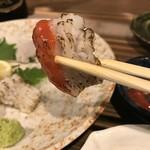 ダイフク - 焼き霜、梅肉で(2019.8.6)