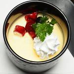 名古屋コーチン卵のミルクババロア