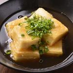 あご出しの揚げ出し豆腐