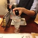 粋なおつまみとお酒 にこ - とぽとぽとぽとぽ〜〜♪