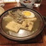 粋なおつまみとお酒 にこ - 肉豆腐^^