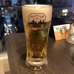 炭火居酒屋×完全個室 鳥右衛門 - アサヒスーパードライ(生) ¥550