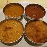 Mirannataraji - カレーは4種類