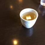 四季彩館ひだなん - 蕎麦茶も香ばしくいい香り!