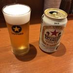 113017057 - 缶ビール 390円