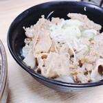 麺'ズ 冨士山 - 肉丼