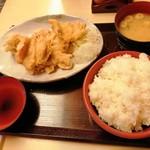 113020145 - 江戸前からあげ定食(900円)