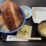 113020529 - ロースかつ丼(ソース) ¥1550
