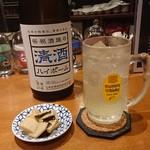 日本酒処 力鯱 - 料理写真:清酒ハイボール(^^)/♪これはクセになりますよ♪