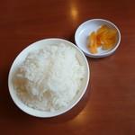 王将 - 小ライス 100円 2019/07
