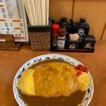 更科 - オムライスカレー①