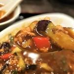 中国料理 山久 - マーボー茄子