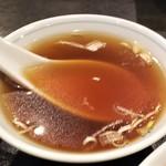 中国料理 山久 - スープ