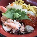 魚河岸 岩木屋 - 料理写真:北海三色丼