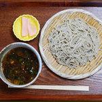 日野宿 ちばい - 冬期限定のもり鴨つけ蕎麦