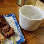 11303995 - 「柚子酒」たしか500円也。