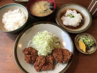 銀座 井泉 - おろしヒレカツ