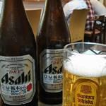 麺屋 たか - 瓶ビール