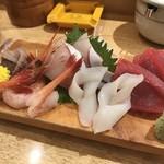 和礼寿司 - お造り盛り合わせ