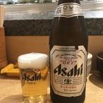 和礼寿司 - 瓶ビール