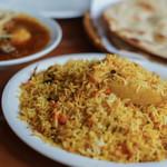 """パキスタン レストラン - """"雞肉穆斯林香飯(チキン・ビリヤニ)"""""""