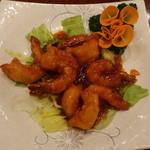 南京町 友好飯店 - 海老のチリソース煮