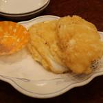 南京町 友好飯店 - イカの天ぷら